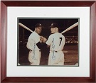 Joe DiMaggio and Mickey Mantle Autograph Sports Memorabilia, Click Image for more info!