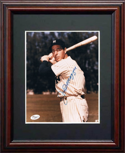 Joe Dimaggio Autograph Sports Memorabilia from Sports Memorabilia On Main Street, sportsonmainstreet.com