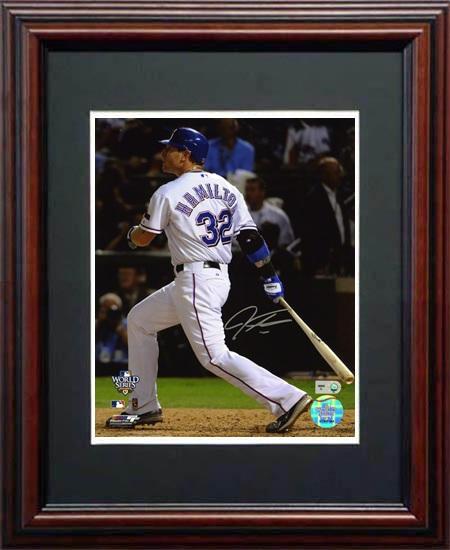 JoshHamilton Autograph Sports Memorabilia from Sports Memorabilia On Main Street, sportsonmainstreet.com