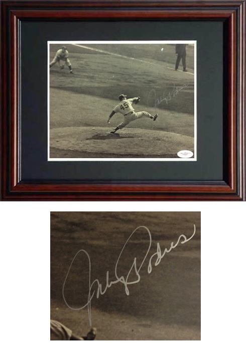 JohnnyPodres Autograph Sports Memorabilia from Sports Memorabilia On Main Street, sportsonmainstreet.com