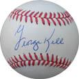 GeorgeKell Autograph Sports Memorabilia, Click Image for more info!