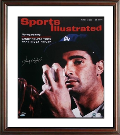 SandyKoufax Autograph Sports Memorabilia from Sports Memorabilia On Main Street, sportsonmainstreet.com