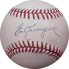 EdKranepool Autograph Sports Memorabilia from Sports Memorabilia On Main Street, sportsonmainstreet.com