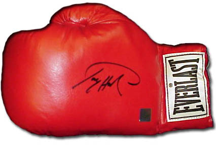 Larry Holmes Autograph Sports Memorabilia from Sports Memorabilia On Main Street, sportsonmainstreet.com