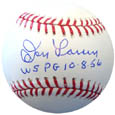 Don Larsen Perfect Game Autograph Sports Memorabilia, Click Image for more info!