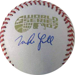 Mike Lowell Autograph Sports Memorabilia from Sports Memorabilia On Main Street, sportsonmainstreet.com