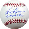 Fred Lynn Autograph Sports Memorabilia, Click Image for more info!