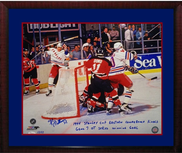 Stephane Matteau Autograph Sports Memorabilia from Sports Memorabilia On Main Street, sportsonmainstreet.com