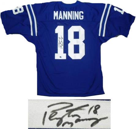 PeytonManning Autograph Sports Memorabilia from Sports Memorabilia On Main Street, sportsonmainstreet.com