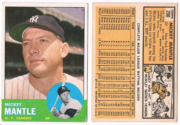 MickeyMantle Autograph Sports Memorabilia from Sports Memorabilia On Main Street, sportsonmainstreet.com
