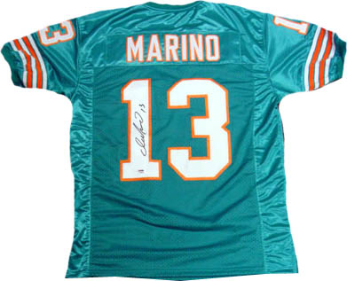 Dan Marino Autograph Sports Memorabilia from Sports Memorabilia On Main Street, sportsonmainstreet.com