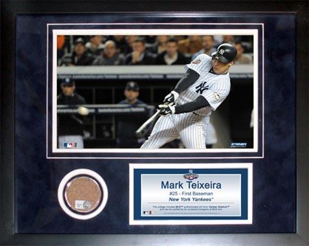 MarkTeixeira Autograph Sports Memorabilia from Sports Memorabilia On Main Street, sportsonmainstreet.com