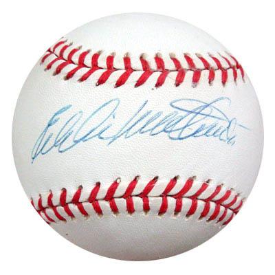 EddieMathews Autograph Sports Memorabilia from Sports Memorabilia On Main Street, sportsonmainstreet.com