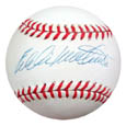 Eddie Mathews Autograph Sports Memorabilia, Click Image for more info!
