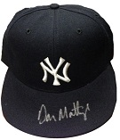 Don Mattingly Autograph Sports Memorabilia, Click Image for more info!