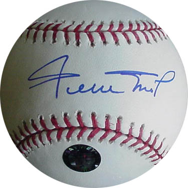 Willie Mays Autograph Sports Memorabilia from Sports Memorabilia On Main Street, sportsonmainstreet.com