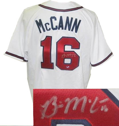BrianMcCann Autograph Sports Memorabilia from Sports Memorabilia On Main Street, sportsonmainstreet.com