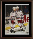 Mark Messier and Adam Graves Autograph Sports Memorabilia, Click Image for more info!