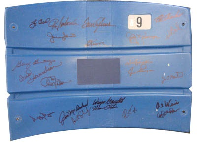 1969 New York Mets World Series Champion Team Autograph Sports Memorabilia from Sports Memorabilia On Main Street, sportsonmainstreet.com