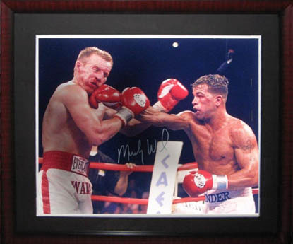 Micky Ward Autograph Sports Memorabilia from Sports Memorabilia On Main Street, sportsonmainstreet.com