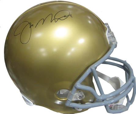 JoeMontana Autograph Sports Memorabilia from Sports Memorabilia On Main Street, sportsonmainstreet.com