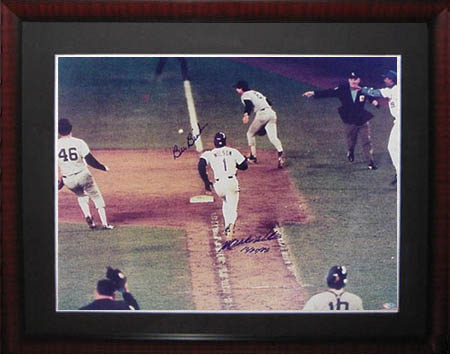 MookieWilson and Bill Buckner Autograph Sports Memorabilia from Sports Memorabilia On Main Street, sportsonmainstreet.com