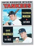 Thurman Munson Autograph Sports Memorabilia, Click Image for more info!