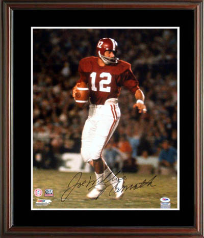 JoeNamath Autograph Sports Memorabilia from Sports Memorabilia On Main Street, sportsonmainstreet.com