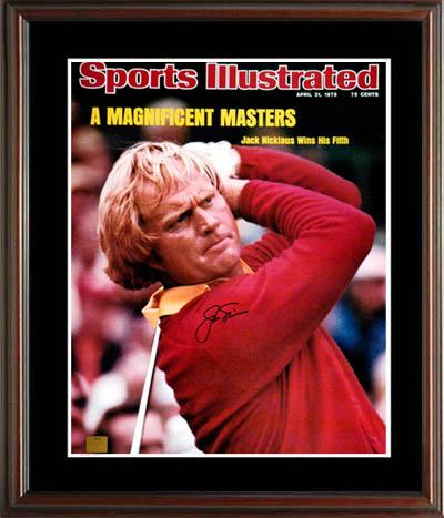 JackNicklaus Autograph Sports Memorabilia from Sports Memorabilia On Main Street, sportsonmainstreet.com