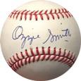 OzzieSmith Autograph Sports Memorabilia, Click Image for more info!