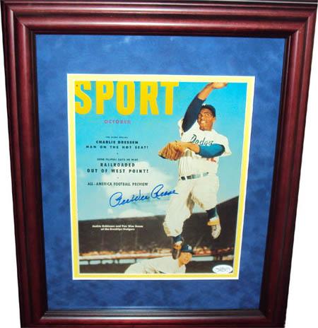Pee WeeReese Autograph Sports Memorabilia from Sports Memorabilia On Main Street, sportsonmainstreet.com