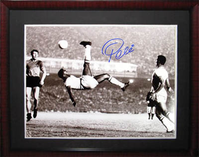 Pele Autograph Sports Memorabilia from Sports Memorabilia On Main Street, sportsonmainstreet.com