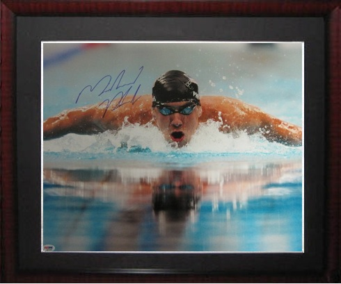 Michael Phelps Autograph Sports Memorabilia from Sports Memorabilia On Main Street, sportsonmainstreet.com