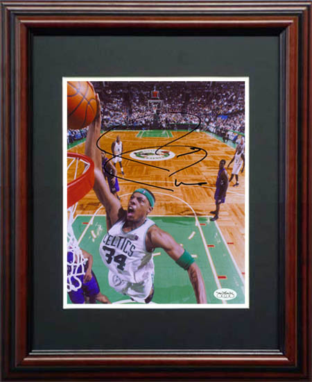 Paul Pierce Autograph Sports Memorabilia from Sports Memorabilia On Main Street, sportsonmainstreet.com