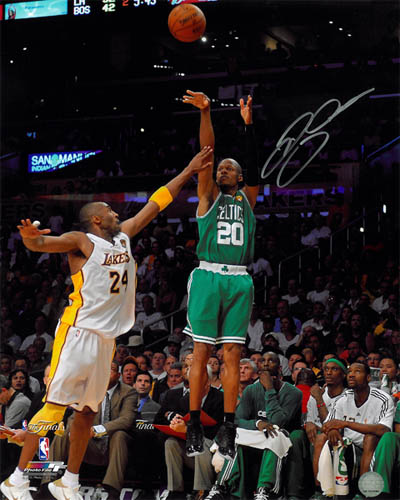 Ray Allen Autograph Sports Memorabilia from Sports Memorabilia On Main Street, sportsonmainstreet.com