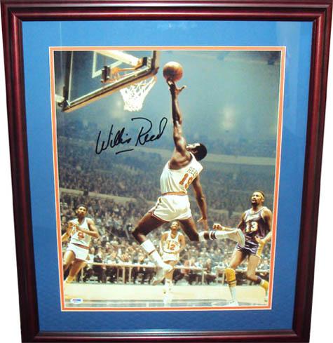 WillisReed Autograph Sports Memorabilia from Sports Memorabilia On Main Street, sportsonmainstreet.com