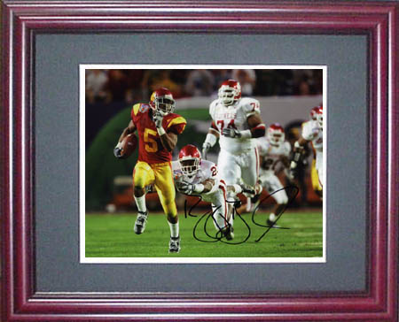 ReggieBush Autograph Sports Memorabilia from Sports Memorabilia On Main Street, sportsonmainstreet.com