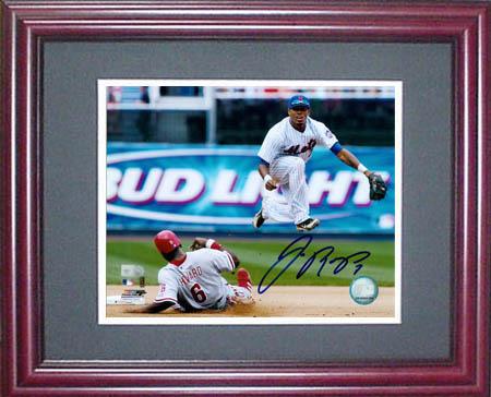 Jose Reyes Autograph Sports Memorabilia from Sports Memorabilia On Main Street, sportsonmainstreet.com