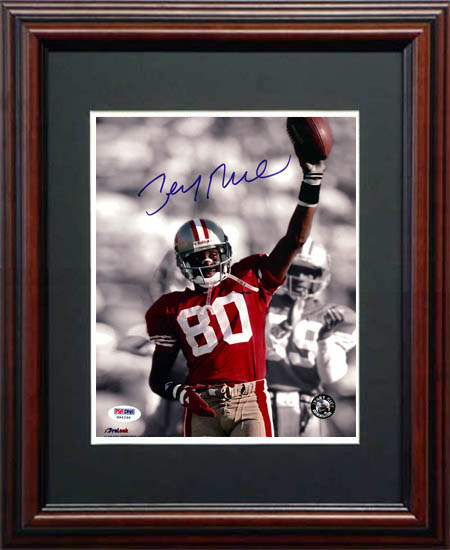 Jerry Rice Autograph Sports Memorabilia from Sports Memorabilia On Main Street, sportsonmainstreet.com