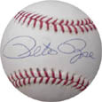 PeteRose Autograph Sports Memorabilia, Click Image for more info!