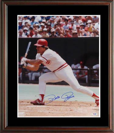 PeteRose Autograph Sports Memorabilia from Sports Memorabilia On Main Street, sportsonmainstreet.com