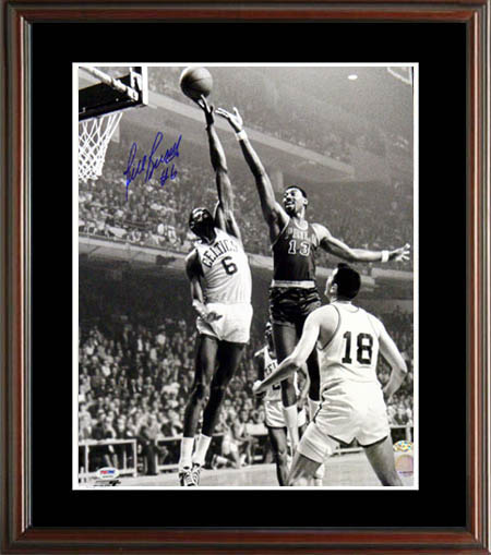 Bill Russell Autograph Sports Memorabilia from Sports Memorabilia On Main Street, sportsonmainstreet.com