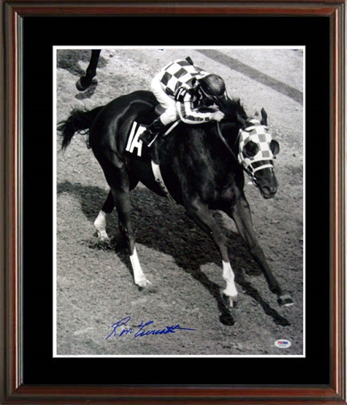 Ron Turcotte Secretariat Autograph Sports Memorabilia from Sports Memorabilia On Main Street, sportsonmainstreet.com