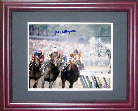 Jean Cruguet Seattle Slew Autograph Sports Memorabilia from Sports Memorabilia On Main Street, sportsonmainstreet.com