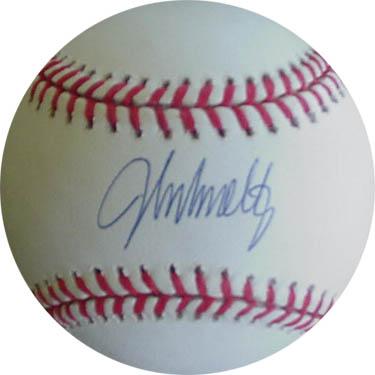 JohnSmoltz Autograph Sports Memorabilia from Sports Memorabilia On Main Street, sportsonmainstreet.com