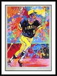 Willie Stargell Leroy Neiman Autograph Sports Memorabilia, Click Image for more info!