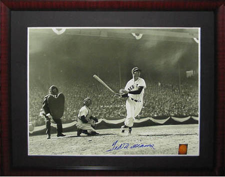 Ted Williams Autograph Sports Memorabilia from Sports Memorabilia On Main Street, sportsonmainstreet.com