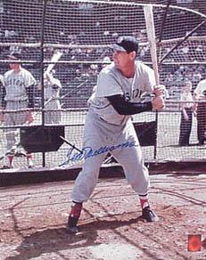 TedWilliams Autograph Sports Memorabilia from Sports Memorabilia On Main Street, sportsonmainstreet.com