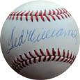 TedWilliams Autograph Sports Memorabilia, Click Image for more info!