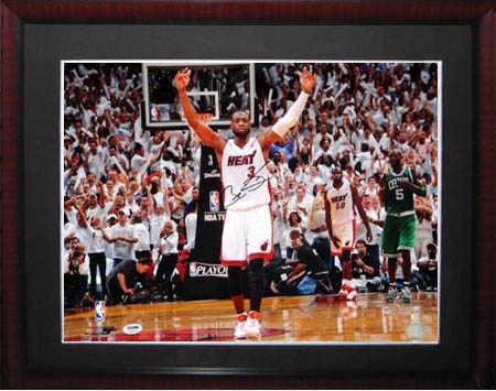Dwayne Wade Autograph Sports Memorabilia from Sports Memorabilia On Main Street, sportsonmainstreet.com